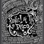 Panic ! At The Disco Lyric Quotes Mini Canvas 4  x 4  4  x 4  x 0.875  Stretched Canvas