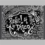Panic ! At The Disco Lyric Quotes Mini Canvas 6  x 4  6  x 4  x 0.875  Stretched Canvas