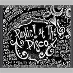 Panic ! At The Disco Lyric Quotes Canvas 24  x 20  24  x 20  x 0.875  Stretched Canvas