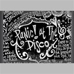 Panic ! At The Disco Lyric Quotes Canvas 18  x 12  18  x 12  x 0.875  Stretched Canvas
