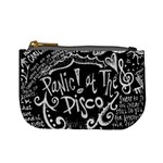 Panic ! At The Disco Lyric Quotes Mini Coin Purses Front
