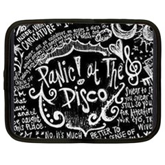 Panic ! At The Disco Lyric Quotes Netbook Case (XL)