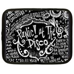 Panic ! At The Disco Lyric Quotes Netbook Case (XL)  Front