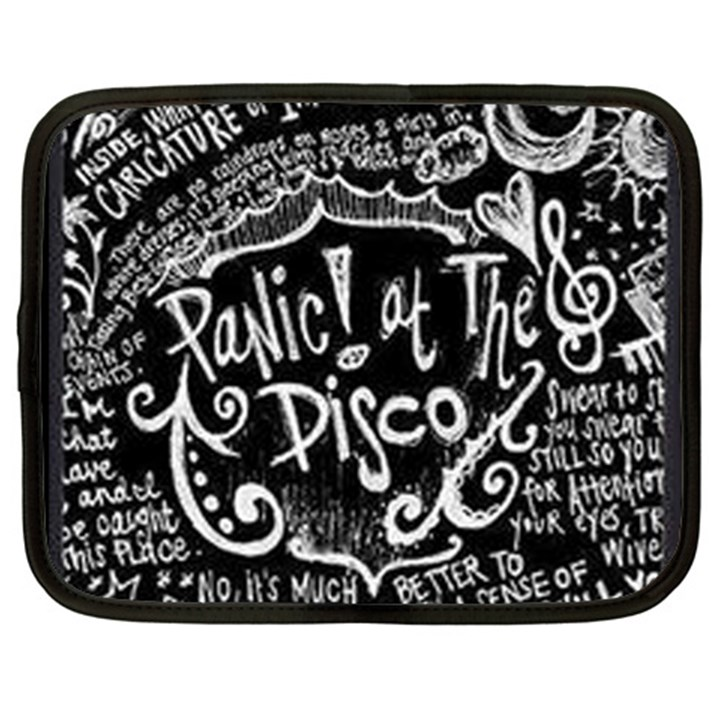 Panic ! At The Disco Lyric Quotes Netbook Case (XXL)