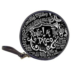 Panic ! At The Disco Lyric Quotes Classic 20 Cd Wallets