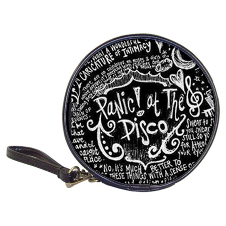 Panic ! At The Disco Lyric Quotes Classic 20-CD Wallets
