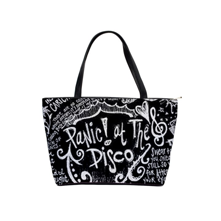 Panic ! At The Disco Lyric Quotes Shoulder Handbags
