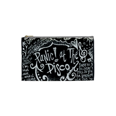 Panic ! At The Disco Lyric Quotes Cosmetic Bag (Small)