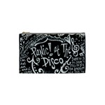 Panic ! At The Disco Lyric Quotes Cosmetic Bag (Small)  Front