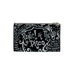 Panic ! At The Disco Lyric Quotes Cosmetic Bag (Small)  Back