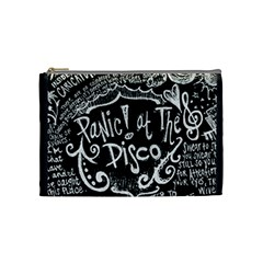 Panic ! At The Disco Lyric Quotes Cosmetic Bag (Medium)