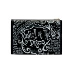 Panic ! At The Disco Lyric Quotes Cosmetic Bag (Medium)  Back