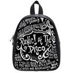 Panic ! At The Disco Lyric Quotes School Bags (Small)  Front