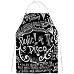 Panic ! At The Disco Lyric Quotes Full Print Aprons Front