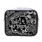 Panic ! At The Disco Lyric Quotes Mini Toiletries Bags Front