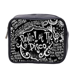 Panic ! At The Disco Lyric Quotes Mini Toiletries Bag 2 Side