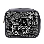 Panic ! At The Disco Lyric Quotes Mini Toiletries Bag 2-Side Front