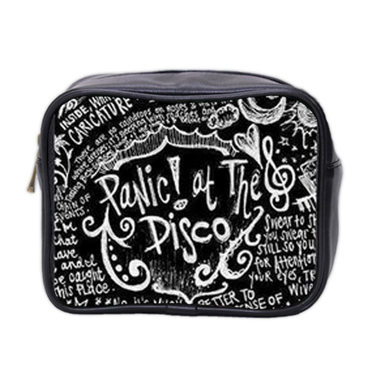 Panic ! At The Disco Lyric Quotes Mini Toiletries Bag 2-Side
