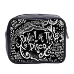 Panic ! At The Disco Lyric Quotes Mini Toiletries Bag 2-Side Back