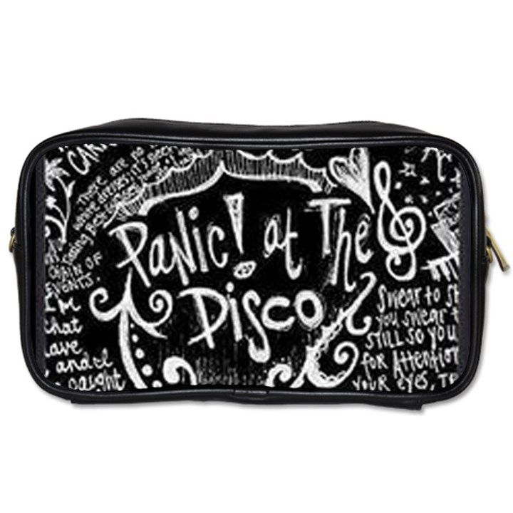 Panic ! At The Disco Lyric Quotes Toiletries Bags 2-Side