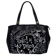 Panic ! At The Disco Lyric Quotes Office Handbags