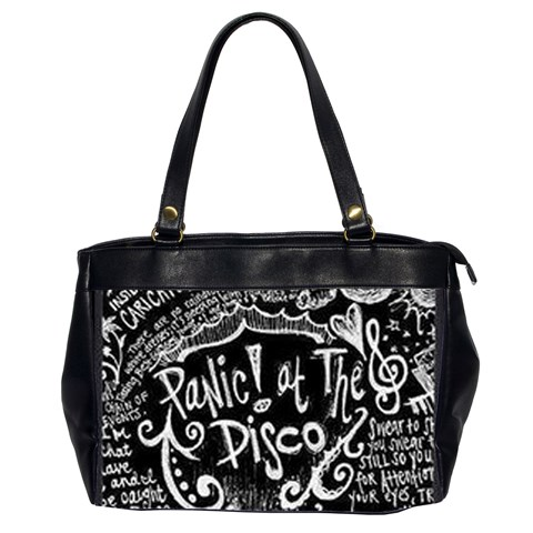 Panic ! At The Disco Lyric Quotes Office Handbags (2 Sides)