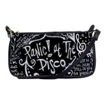Panic ! At The Disco Lyric Quotes Shoulder Clutch Bags Front