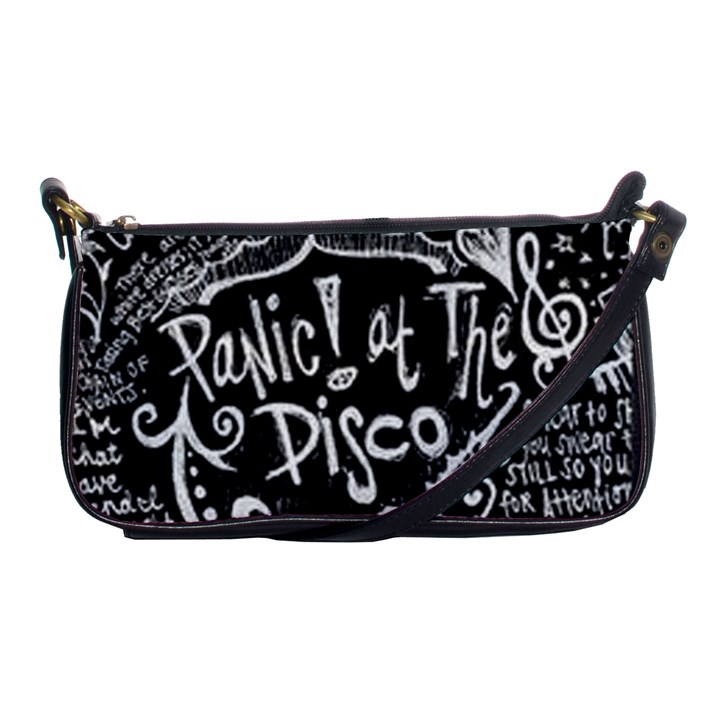 Panic ! At The Disco Lyric Quotes Shoulder Clutch Bags