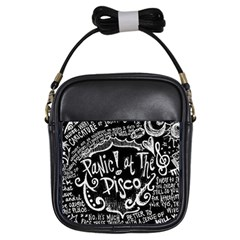 Panic ! At The Disco Lyric Quotes Girls Sling Bags