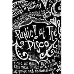Panic ! At The Disco Lyric Quotes 5.5  x 8.5  Notebooks