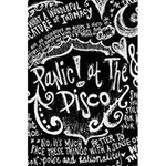 Panic ! At The Disco Lyric Quotes 5.5  x 8.5  Notebooks Back Cover Inside