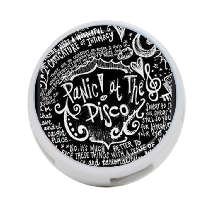 Panic ! At The Disco Lyric Quotes 4-Port USB Hub (One Side)