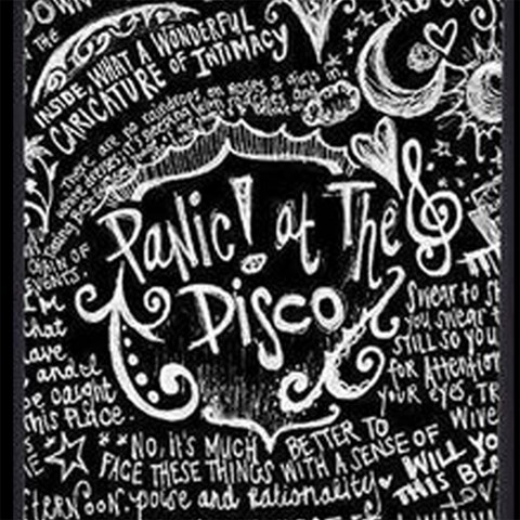 Panic ! At The Disco Lyric Quotes Magic Photo Cubes