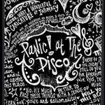 Panic ! At The Disco Lyric Quotes Magic Photo Cubes Side 1