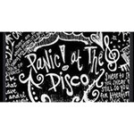 Panic ! At The Disco Lyric Quotes Magic Photo Cubes Long Side 3