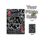 Panic ! At The Disco Lyric Quotes Playing Cards 54 (Mini)  Front - Heart4