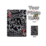 Panic ! At The Disco Lyric Quotes Playing Cards 54 (Mini)  Front - Diamond7