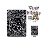 Panic ! At The Disco Lyric Quotes Playing Cards 54 (Mini)  Front - ClubJ