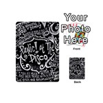 Panic ! At The Disco Lyric Quotes Playing Cards 54 (Mini)  Front - ClubA