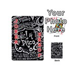 Panic ! At The Disco Lyric Quotes Playing Cards 54 (Mini)  Front - Joker2