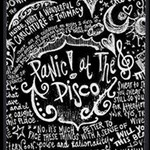 Panic ! At The Disco Lyric Quotes Storage Stool 12   Top