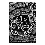 Panic ! At The Disco Lyric Quotes Shower Curtain 48  x 72  (Small)  42.18 x64.8 Curtain