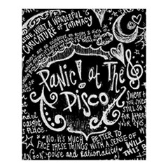 Panic ! At The Disco Lyric Quotes Shower Curtain 60  X 72  (medium)