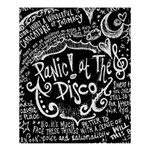 Panic ! At The Disco Lyric Quotes Shower Curtain 60  x 72  (Medium)  54.25 x65.71 Curtain
