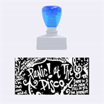 Panic ! At The Disco Lyric Quotes Rubber Stamps (Medium)  1.34 x0.71  Stamp