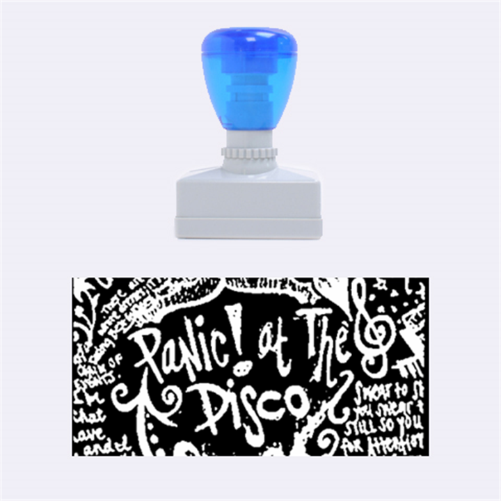 Panic ! At The Disco Lyric Quotes Rubber Stamps (Medium)