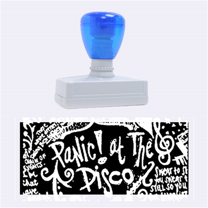 Panic ! At The Disco Lyric Quotes Rubber Stamps (Large)