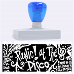 Panic ! At The Disco Lyric Quotes Rubber Address Stamps (XL) 3.13 x1.38  Stamp