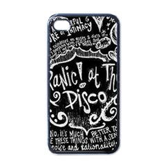 Panic ! At The Disco Lyric Quotes Apple Iphone 4 Case (black)