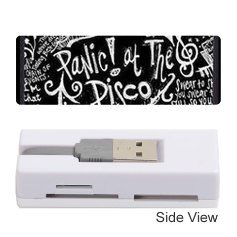 Panic ! At The Disco Lyric Quotes Memory Card Reader (Stick)